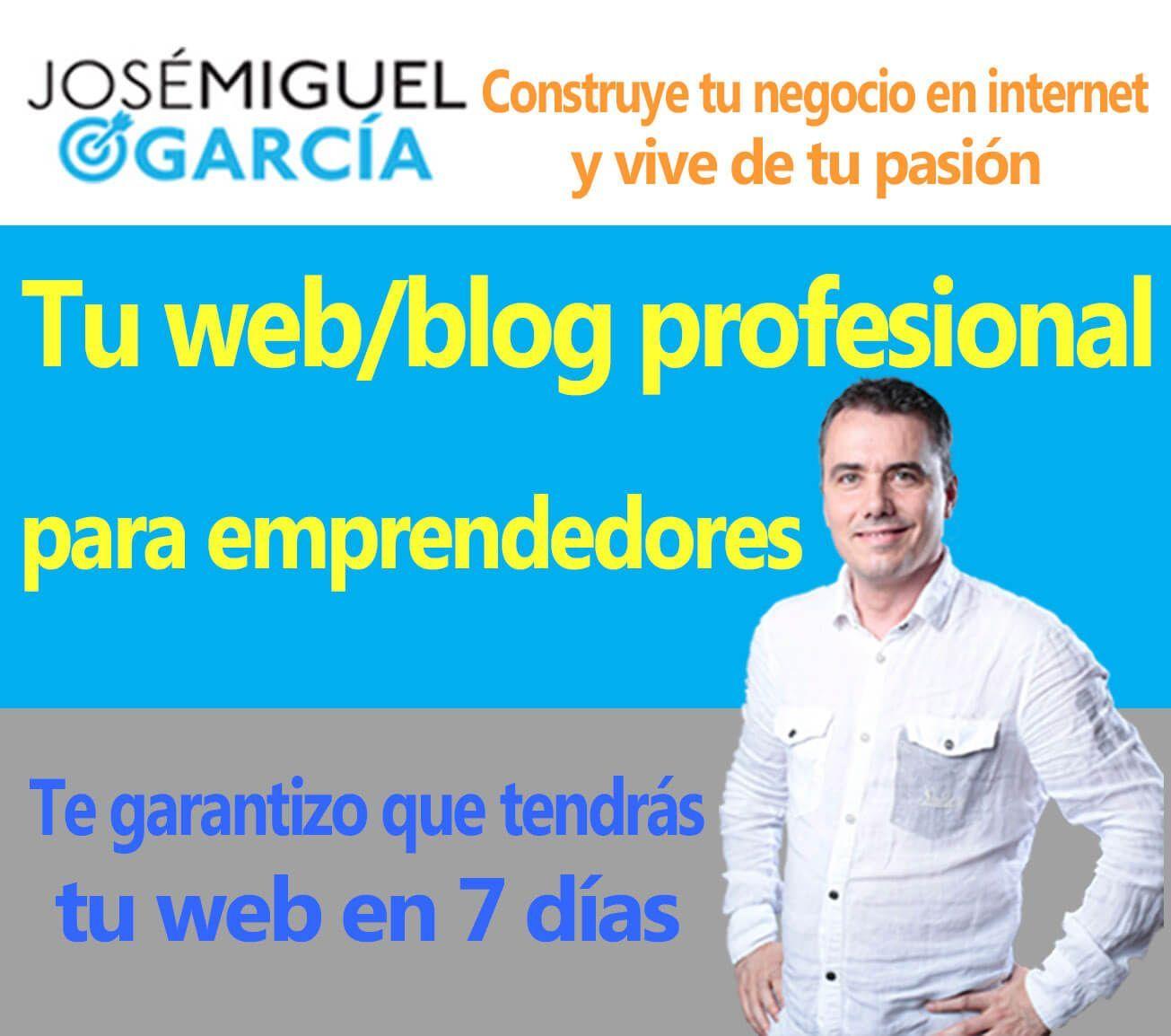 Blog profesional emprendedores