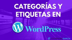 Categorías y etiquetas en WordPress – cómo crearlas y gestionarlas bien en nuestros artículos