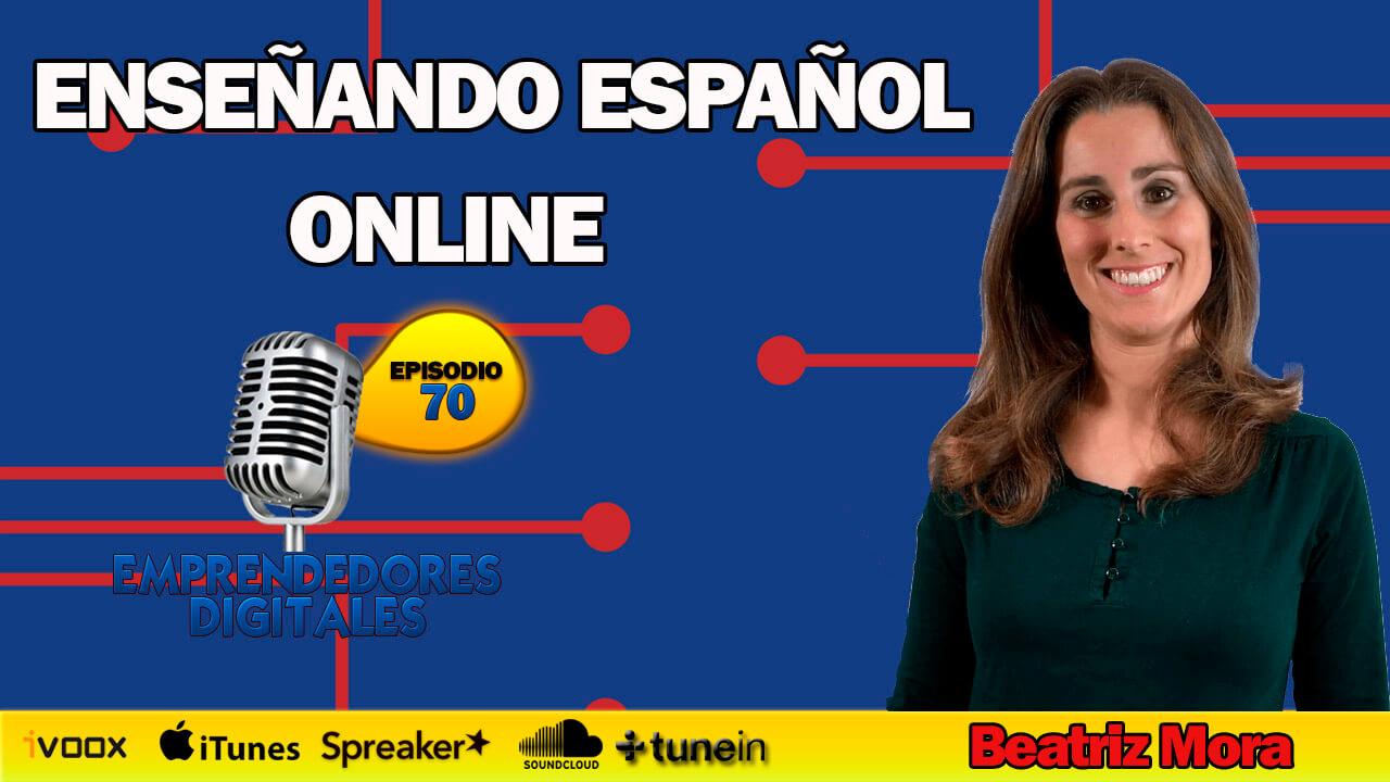 Enseñar español online - Beatriz Mora