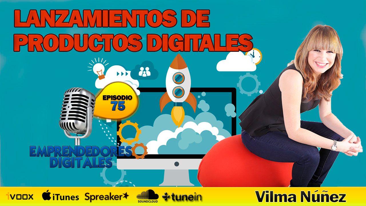 Lanzamientos de productos digitales - Vilma Núñez