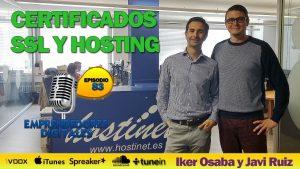 Certificados SSL y hosting