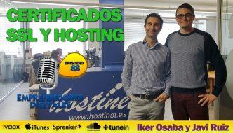 Certificados SSL y hosting – Hostinet | Podcast ep. 83