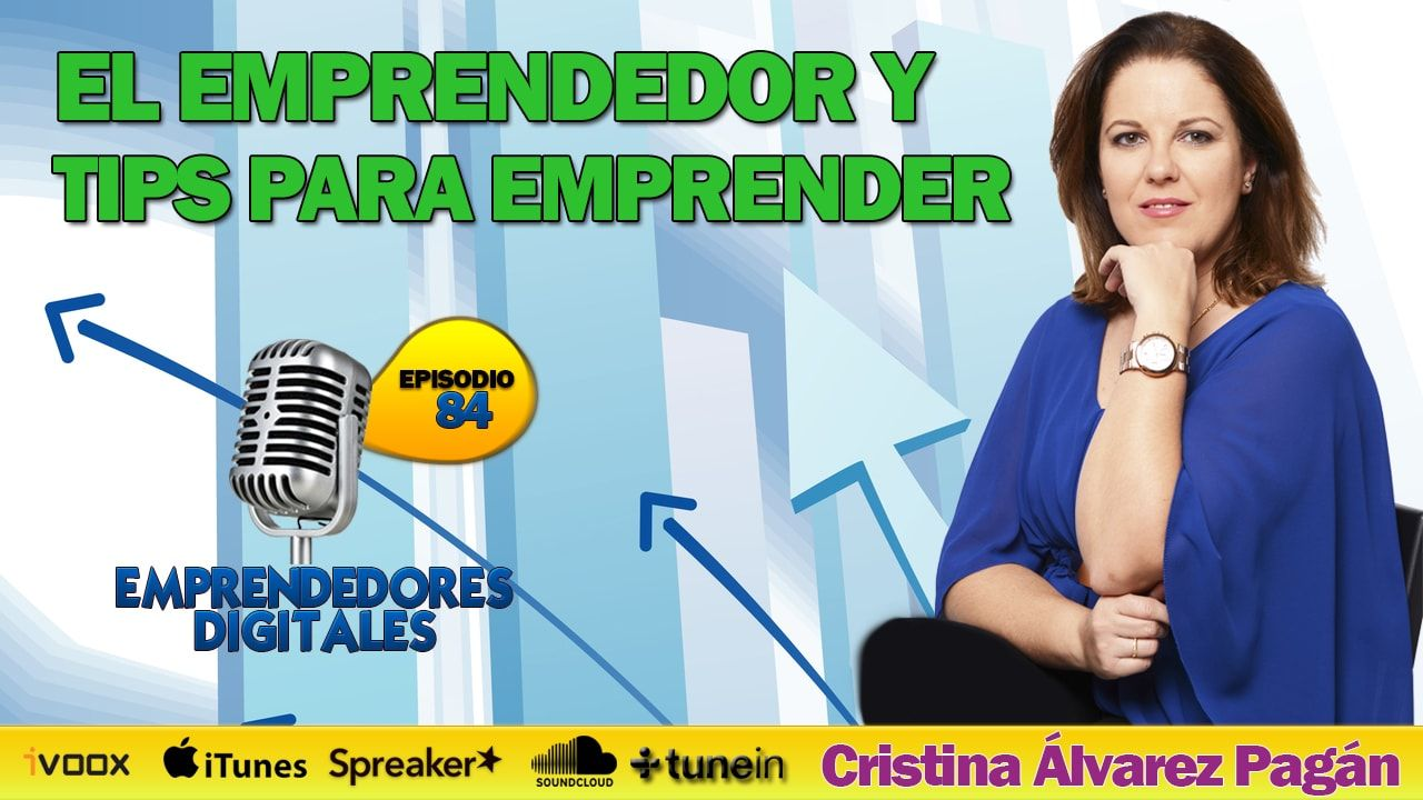 Tips Para Emprender - Cristina Álvarez