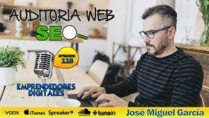 Auditoría web WordPress – José Miguel García | Podcast ep. 116