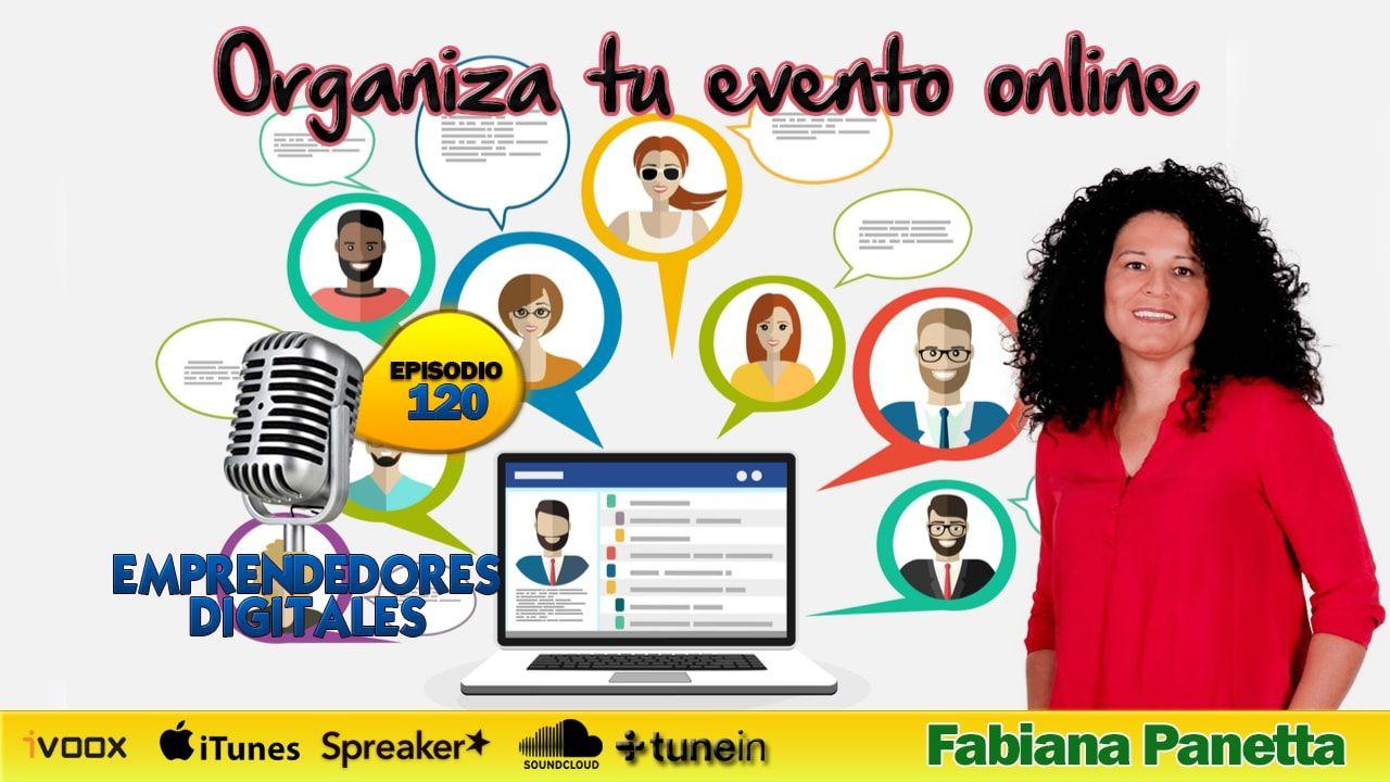 Organiza tu evento online