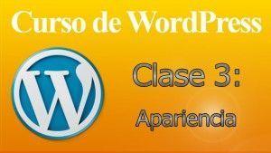 Curso de WordPress 3 – Apariencia