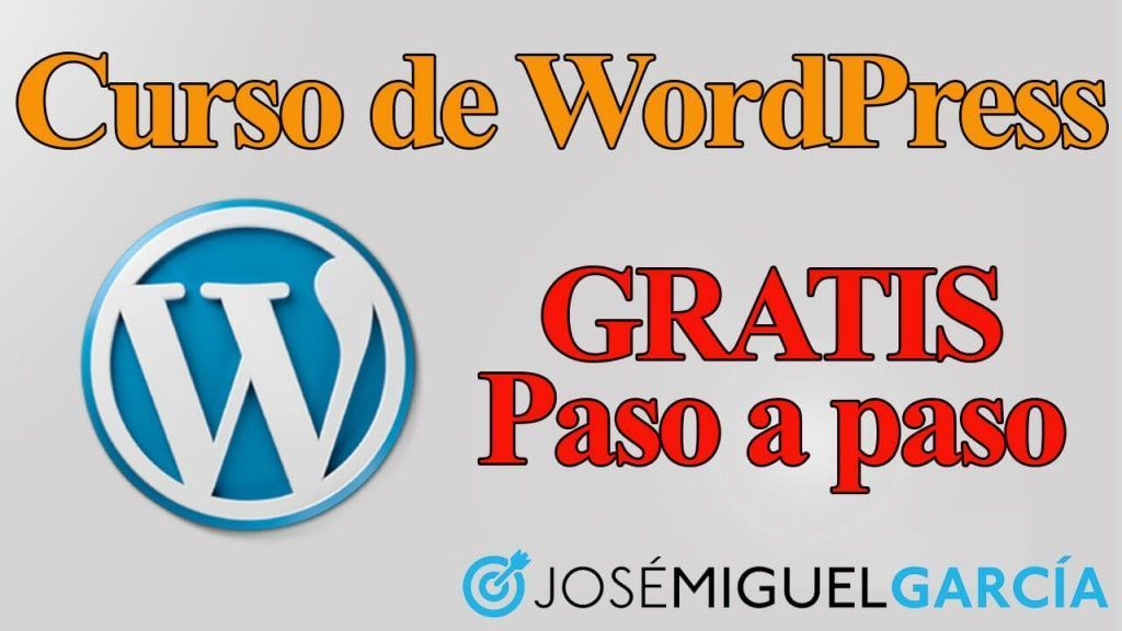 Curso de WordPress Gratis