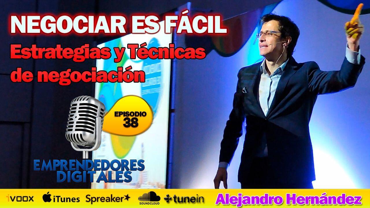 Técnicas de negociación - Alejandro Hernández