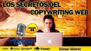 Cómo dominar el copywriting web – Rosa Morel | Podcast episodio 44