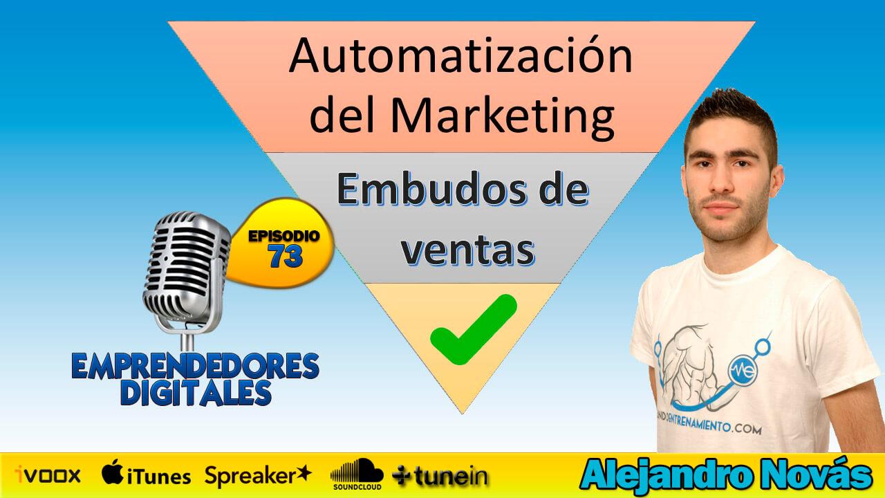Embudos de ventas - Marketing automatizado