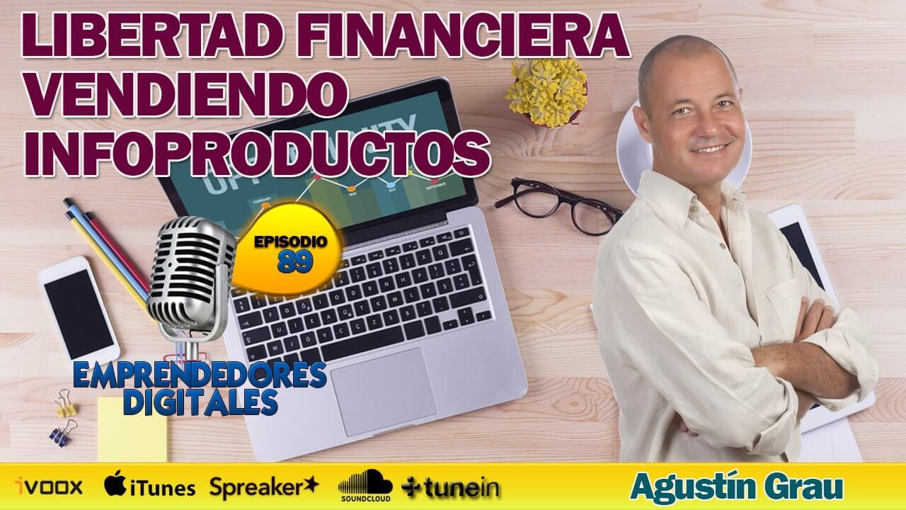 Libertad financiera vendiendo infoproductos