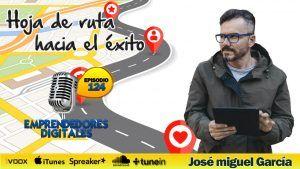 Cómo conseguir tus objetivos – Hoja de ruta hacia el éxito – José Miguel García | Podcast ep. 124
